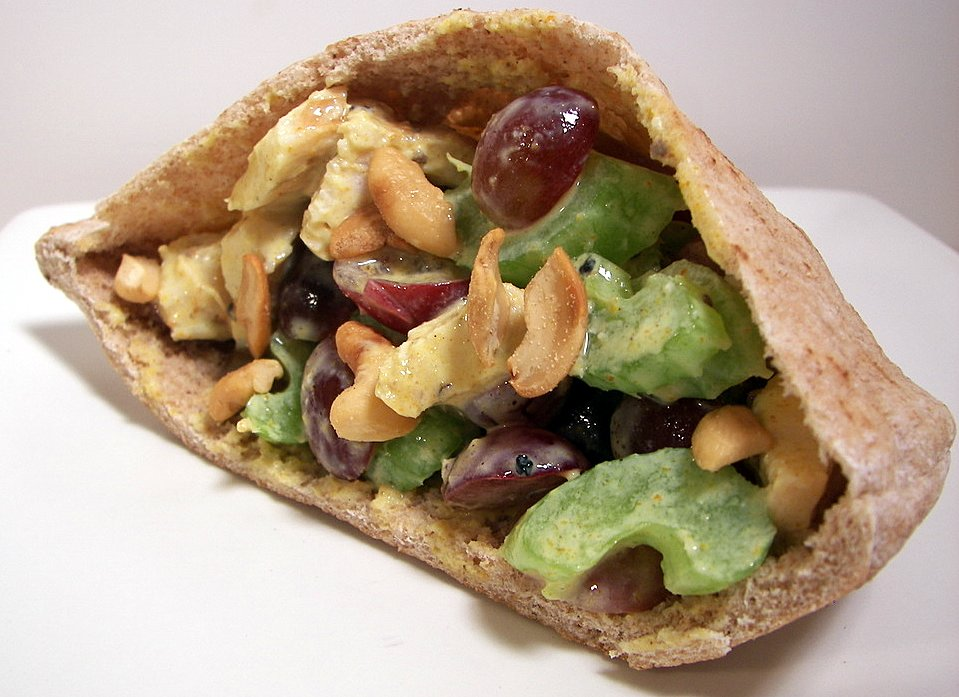 Culinary in the Desert: Curry Turkey Salad