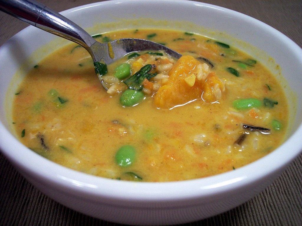 Culinary in the Desert: Curried Peanut-Squash Soup