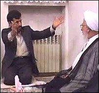 دیدار احمدی نژاد و جوادی آملی