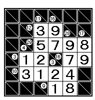 Sudoku meets kakuro meet kakuro sudoku 39 s big brother - Kakuro cross sums combinations table ...