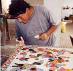 artesano de Sarhua: Julián Ramos