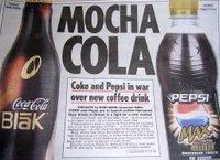 Coca Cola Blak, Pepsi Max Cino