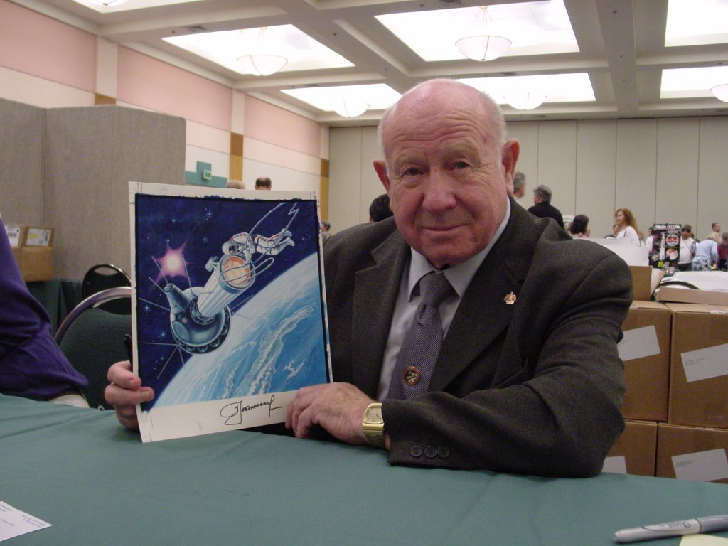 The personal life of Andrei Leonov 56