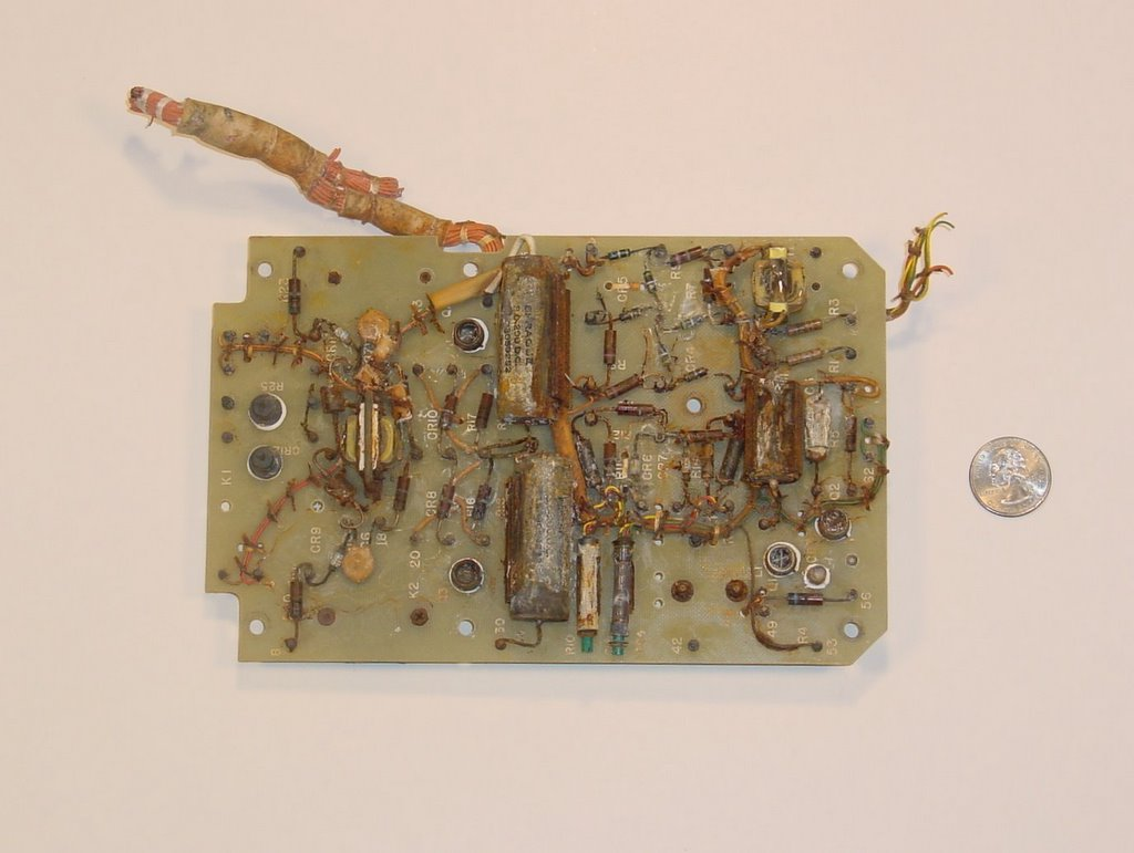 Lunar Archives Liberty Bell 7 Circuit Card Electronic