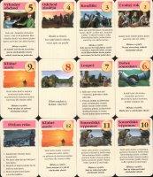 Události katanu - karty