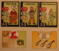 karty postav a výprav