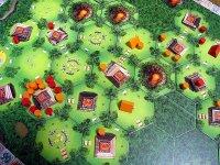 pohled na rozehraný Tikal