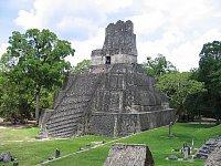 Mayská pyramida