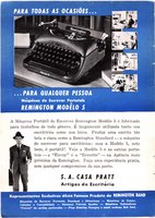 S.A. Capa Pratt - Representante Remington Rand -