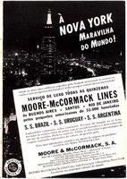Moore-McCormack Lines Inc - Broadway, NY - EUA