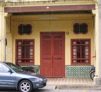 Peranakan doorway