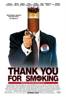 Thank you for Smoking Cameron Bright