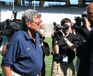 Penn State Coach Joe Paterno