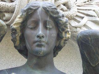 Cemetery angel photograph from Fairmount Cemetery, Denver, Colorado by Joe Beine