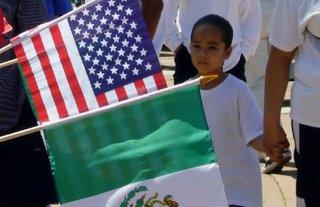 May 1st flag photo by Joe Beine
