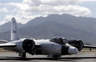 NASA's WB-57 aircraft will make 12 trips into the atmosphere taking off from Alajuela.