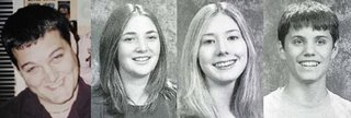 From left to  right: Brett Carlson, Jessica Pierce, Danielle Tongier and Andrew Harpstrite. Photos by the Wichita Eagle