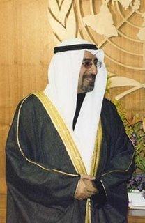 Kuwaiti Foreign Minister Sheikh Mohammad al-Sabah al-Salem al-Sabah
