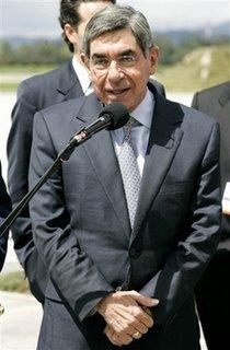 Costa Rican president Oscar Arias - AP Photo/Fernando Vergara