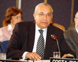 Costa Rica's permanent representative to the OAS, Javier Sancho Bonilla.