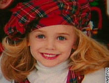 Child model and beauty queen JonBenet Ramsey/KUSA photo