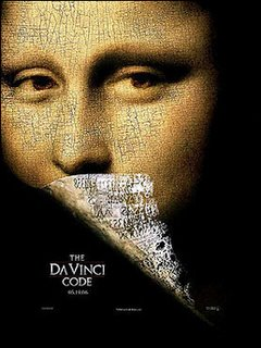 Poster of the movie The Da Vinci Code (AFP/File)