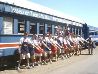 Tico Train Tour staff / Photo by AmericaTravel