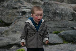 Joel running around on Table Mountain
