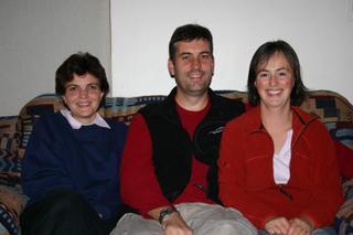 Julia with Dean & Paula 2005 South Africa