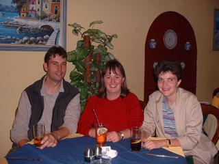 Julia with Dean & Paula 2001 Zimbabwe