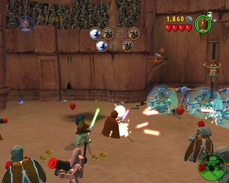 Lego star wars episode 3 online games