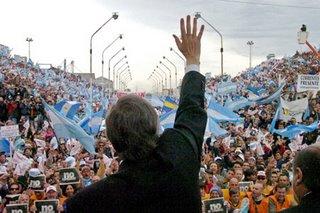 foto acto kischner en gualeguaychú - diario el argentino