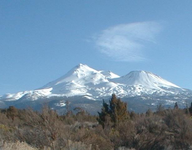 Mt. Shasta from the northwest (photographer: Tamara Lynn Scott)