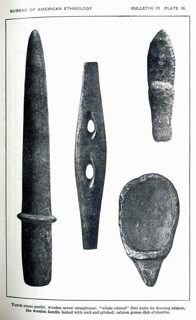 Plate 16. Wooden arrow straightener.