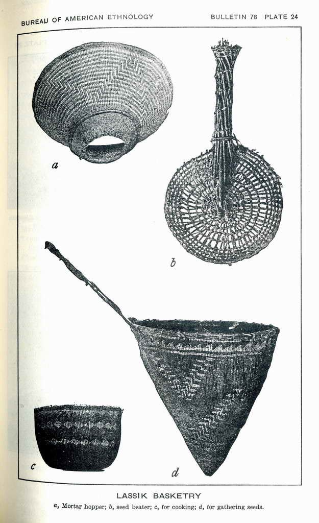 Plate 24. Lassik basketry.