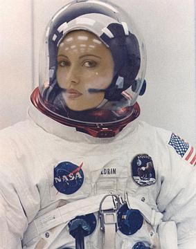 "Sample photo from WWS ""Women Wearing Spacesuits"""