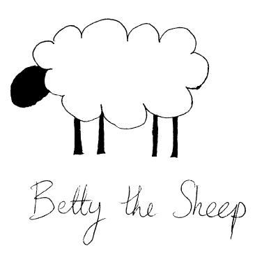 Betty the Sheep