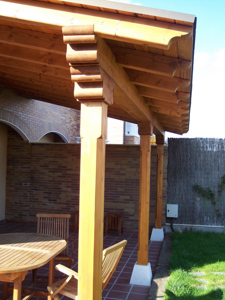 Pergolas y porches de madera - Porches de madera en kit ...