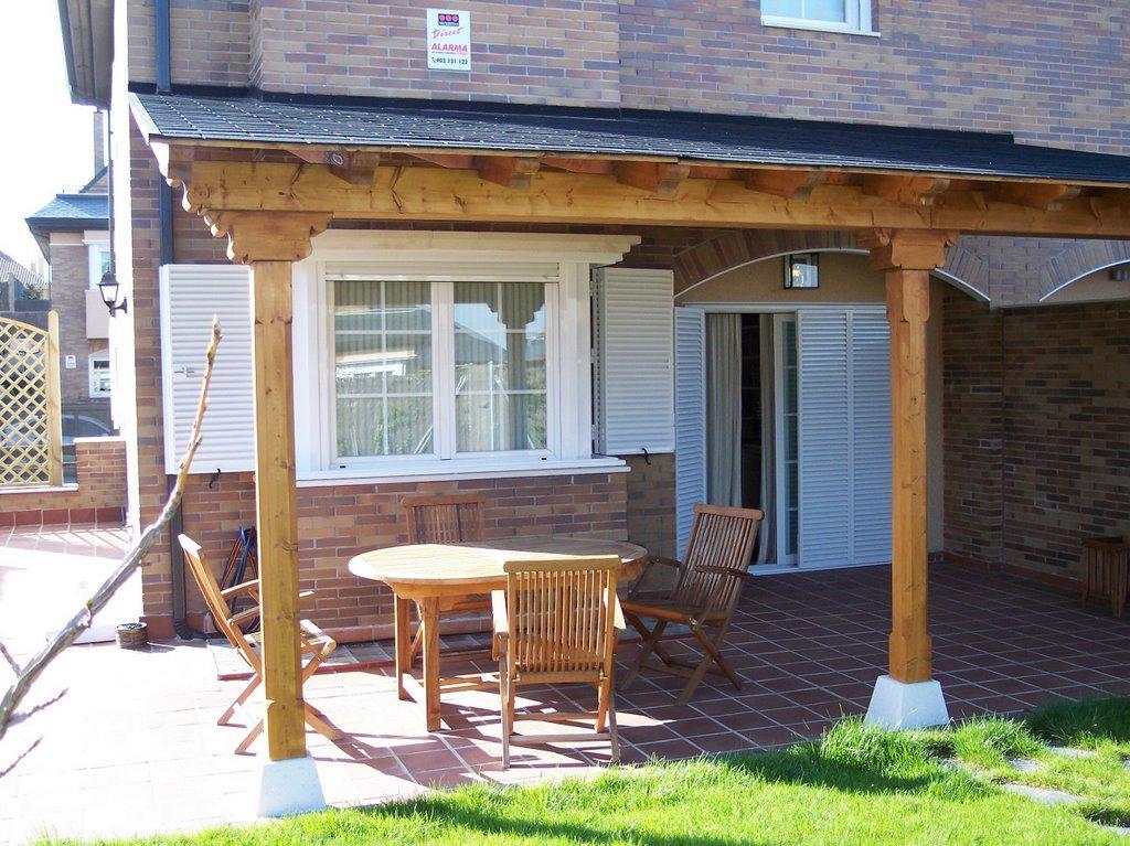 Pergolas y porches de madera - Pergolas y porches ...