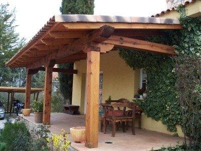 pergolas y porches de madera: June 2006