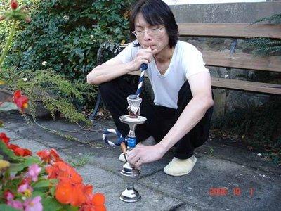 Hookah smoking