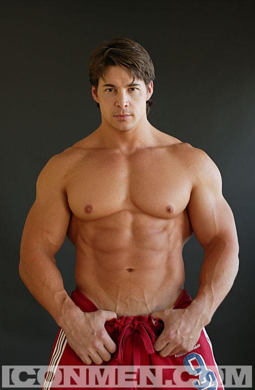 image Hot young gay man striping and cumming jt