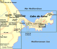 plano de Cabo de Palos