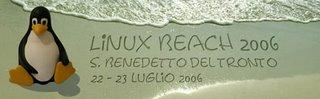 Linux Beach 2006 - San Benedetto del Tronto - 22/23 luglio 2006