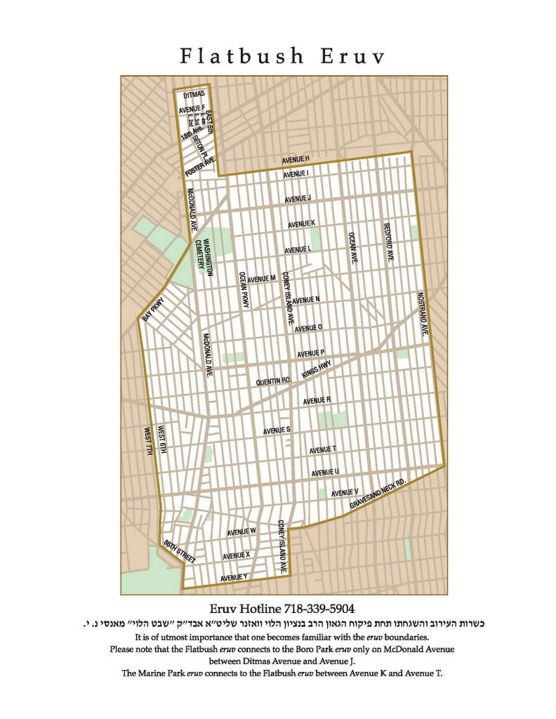Eruv Online - San francisco eruv map