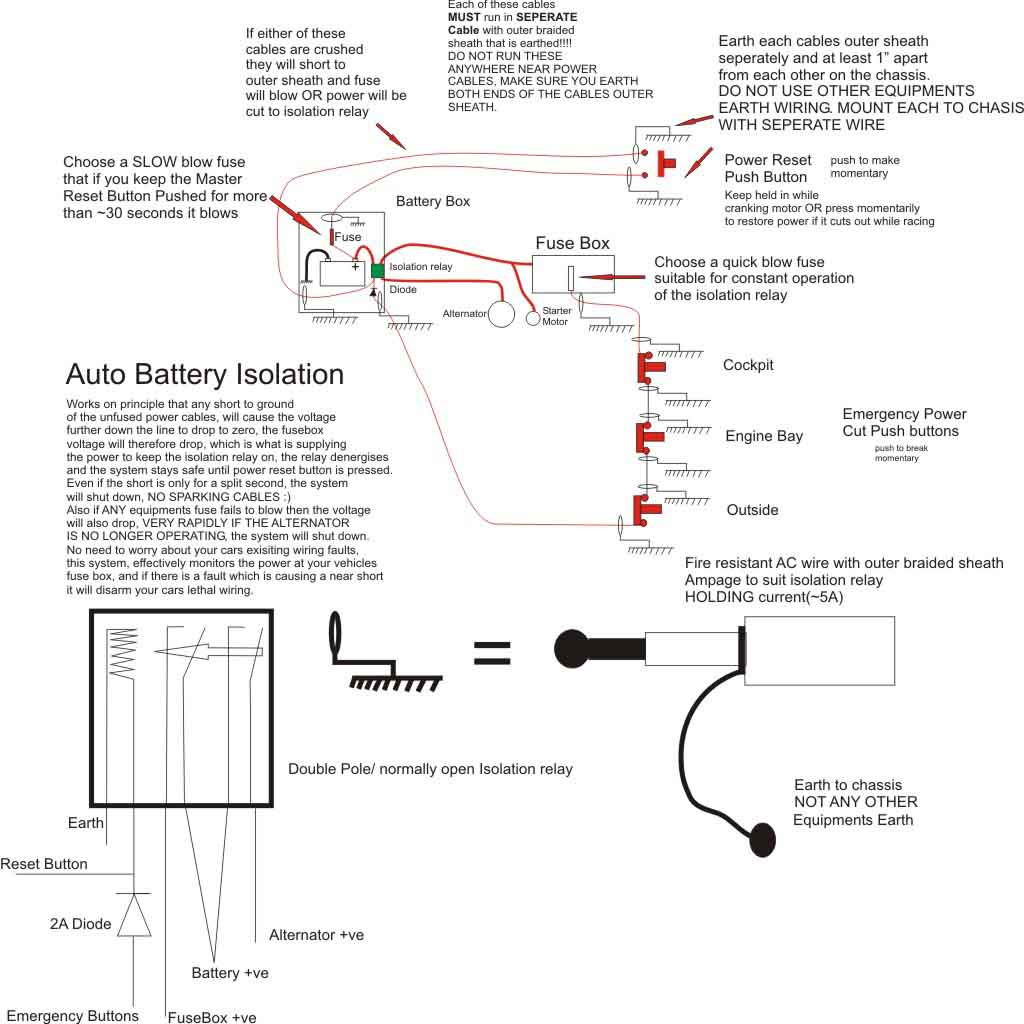 View Topic Peters 931 Intercooler Installation Jegs Roll Control Wiring Diagram Its Important That You Earth Both Sides Of The Outer Shield In Case Wire Is Severed Then Each Half Cable Will Still Be Shielding Inner
