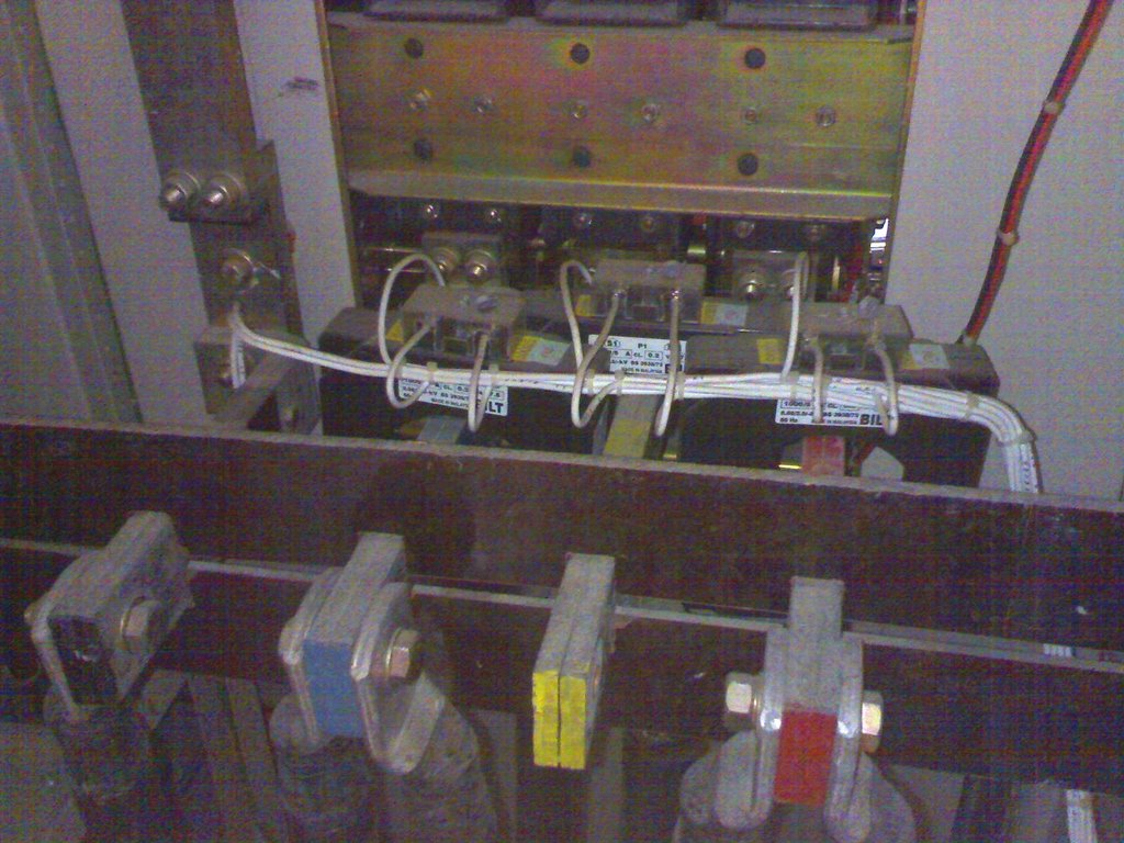 The TNB electrical switch board.