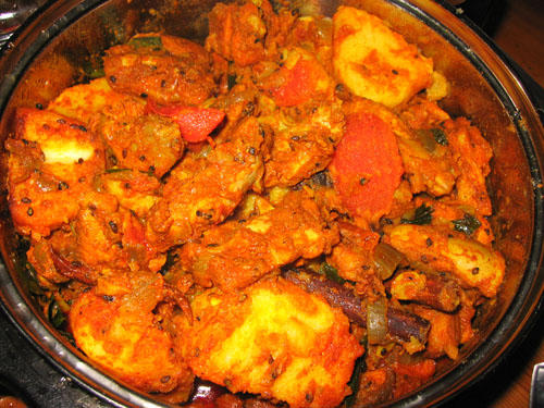 Dry Indian curry