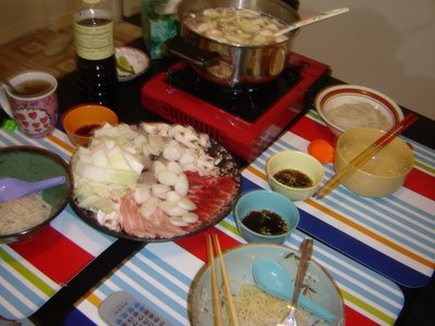 Shabu-shabu in Action!