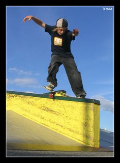 Anthony Feeble at the Sault Skatepark